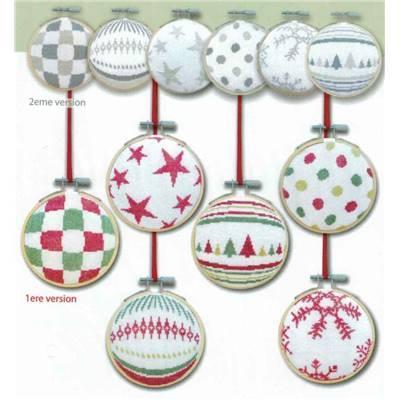 Les Boules de Noël 1 N037 Lilipoints