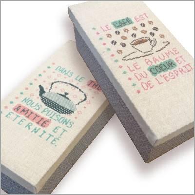 Les Boîtes à Thé/Café V002