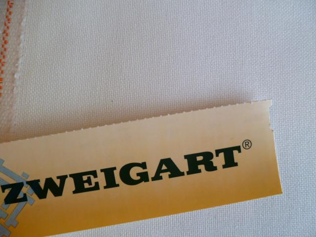 Murano 3984 12,6 Fils Zweigart 101 Blanc Antique