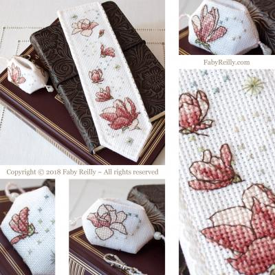 Marque-Page Magnolia - Faby Reilly Designs