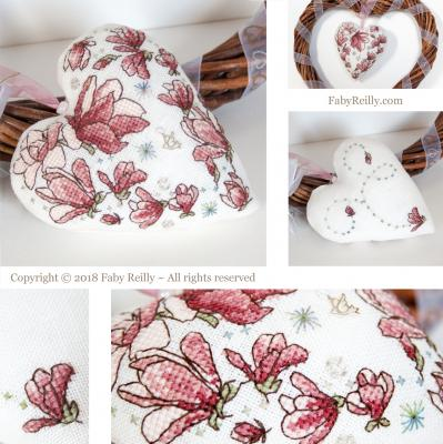 Cœur Magnolia - Faby Reilly Designs