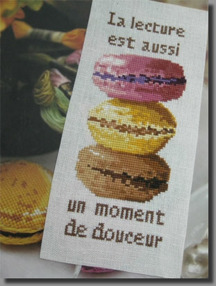 Marque page les macarons 890
