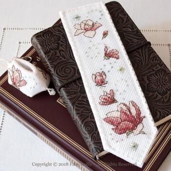 Marque page magnolia 1
