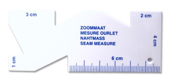 Mesure ourlet 10cm 1