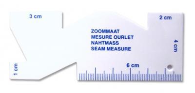 Mesure ourlet 10cm
