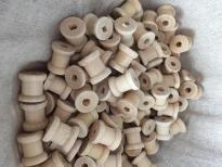 Mini bobines en bois 1