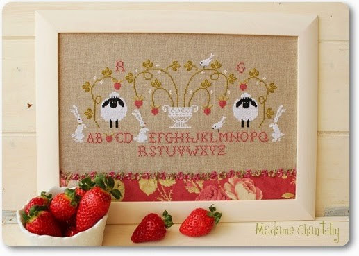 Mme chantilly fraises