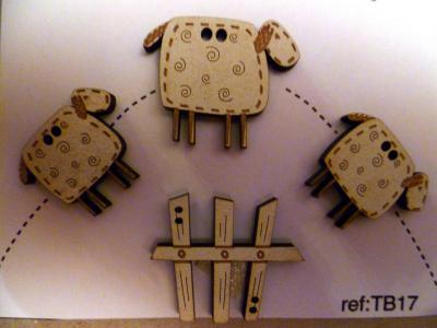 Petits Moutons TB17 The Bee Company