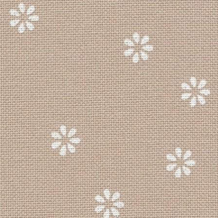 Murano beige a fleurs
