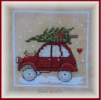 Noël Nostalgique Carré N°1