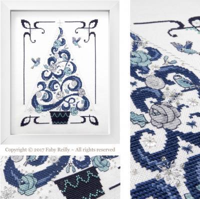 O Tannenbaum en Bleu - Faby Reilly Designs