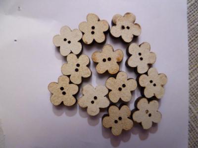 Lot de 12 Mini Fleurs Blanches TF2