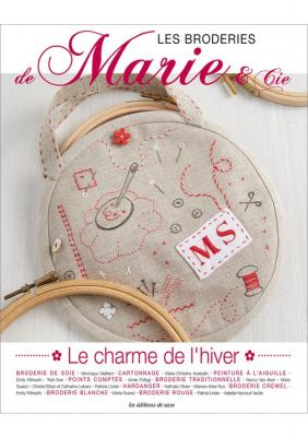 Les Broderies de Marie et Cie N°1 Le Charme de l'Hiver