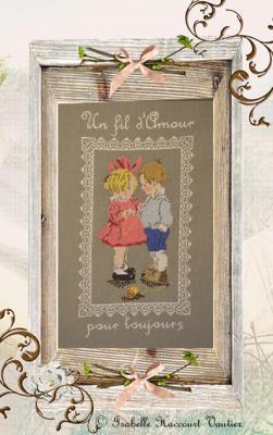 Petit Fil d'amour RV253 Isabelle Haccourt Vautier