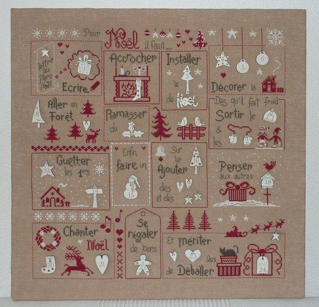 Semi kit Pour Noël, il faut... Version Cérusé