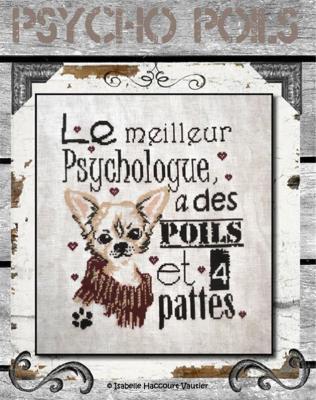 Psycho Poils BDN24 Isabelle Haccourt Vautier