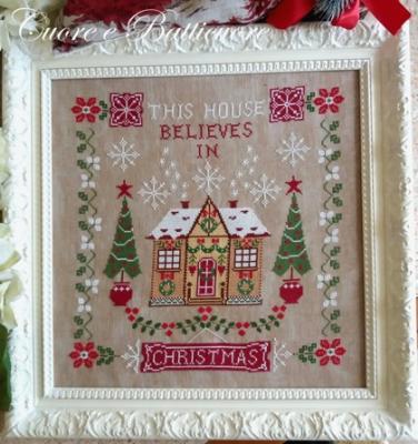 Questa Casa Crede nel Natale Cuore e Batticuore