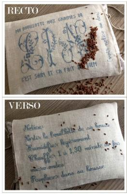 Ma bouillotte aux graines de lin : 4010 Histoires de Lin