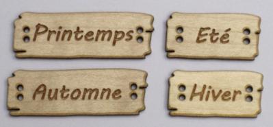 Saisons Français BLD 113 à 116  Au P'tit Bonheur