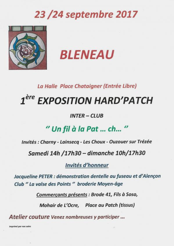 Salon bleneau 23 24 sept 2018