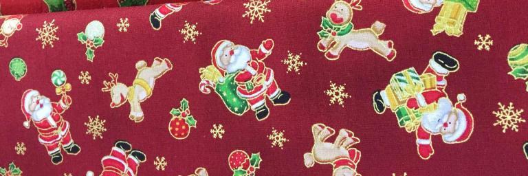 Tissus Patchwork Seasons Greetings Réf : 103 62202