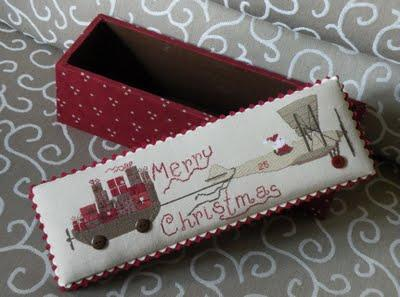 Santa arrives on...   Madame Chantilly