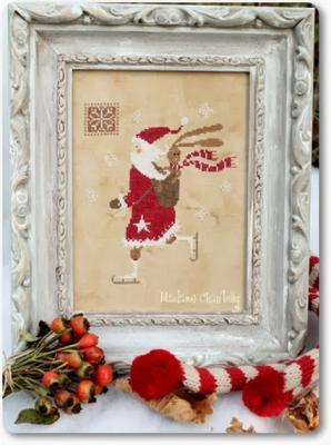 Santa on Ice       Madame Chantilly