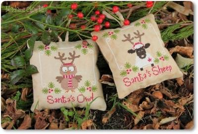 Santa's Ouul & Sheep Madame Chantilly