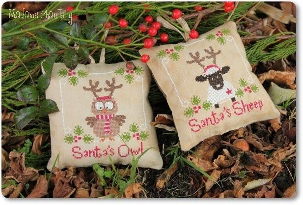 Santa's Ouul & Sheep