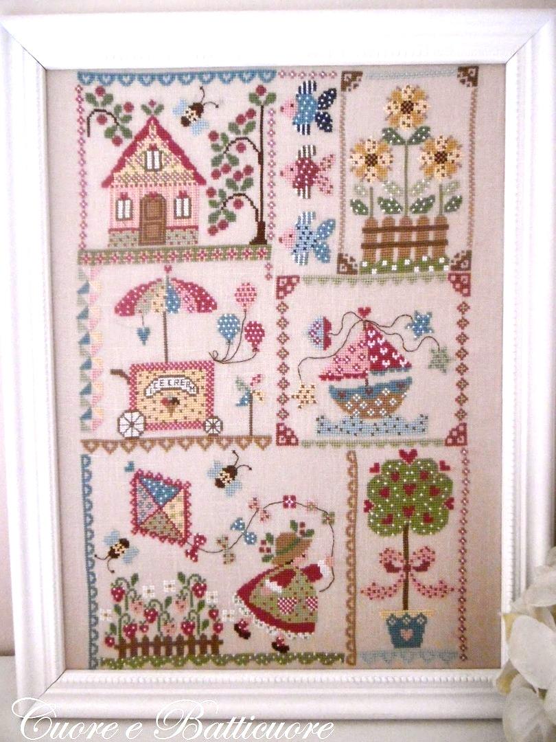 Summer in quilt