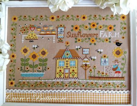 Sunflowers farm