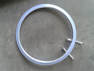 Tambour métal à Broder violet 13cm