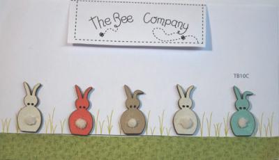 Boutons Lapins de Printemps - TB10C The Bee Company