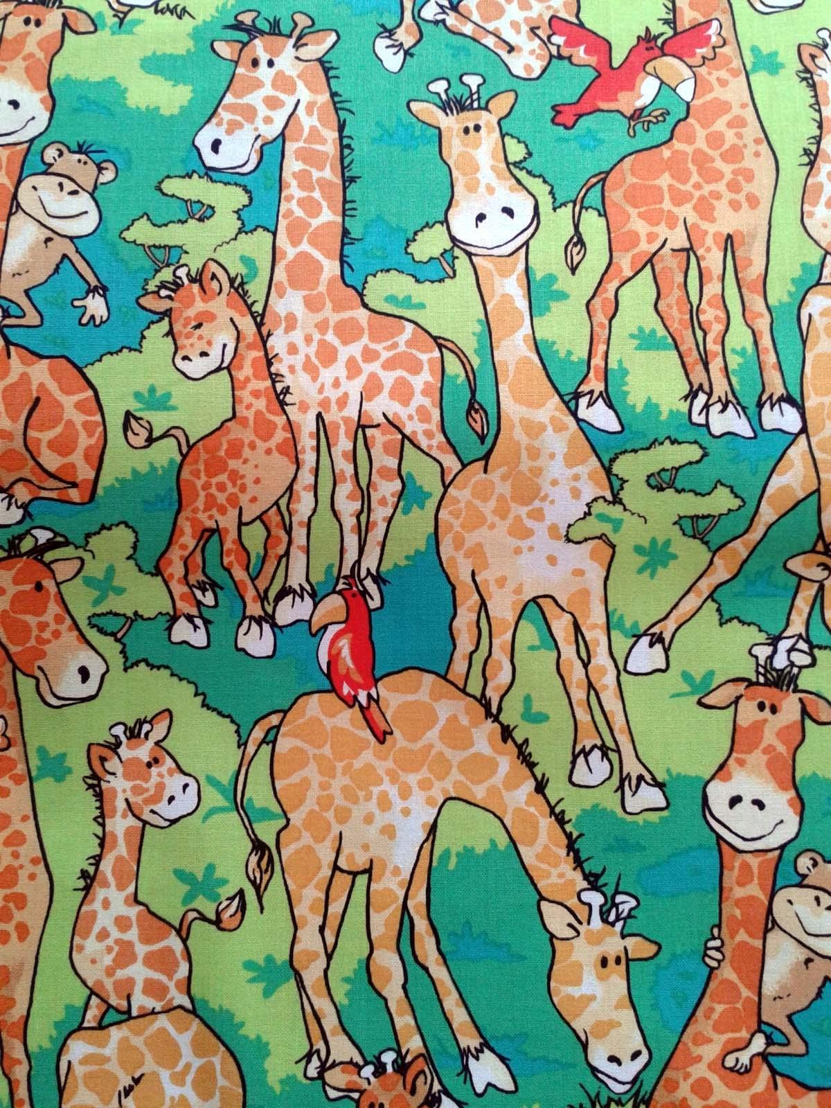 Tissu girafe 2