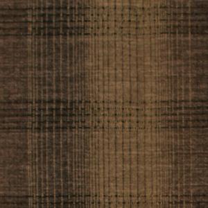 Tissu japonais marron ecossais 10277c