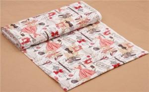 Tissu mode rouge paris c2329 8