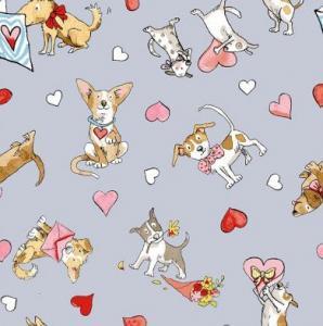 Tissu puppy love 52