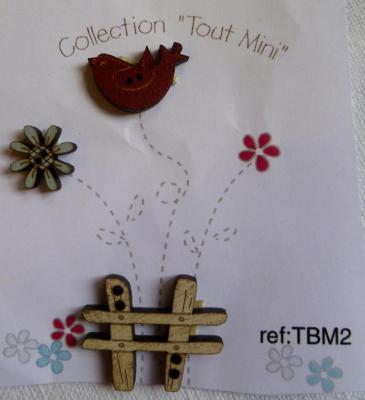 Collection Tout mimi Oiseau TBM2