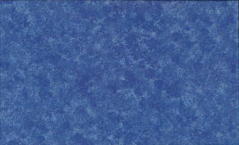 Tissus Patchwork Makower faux Unis Spraytime  B15 BLEU MOYEN