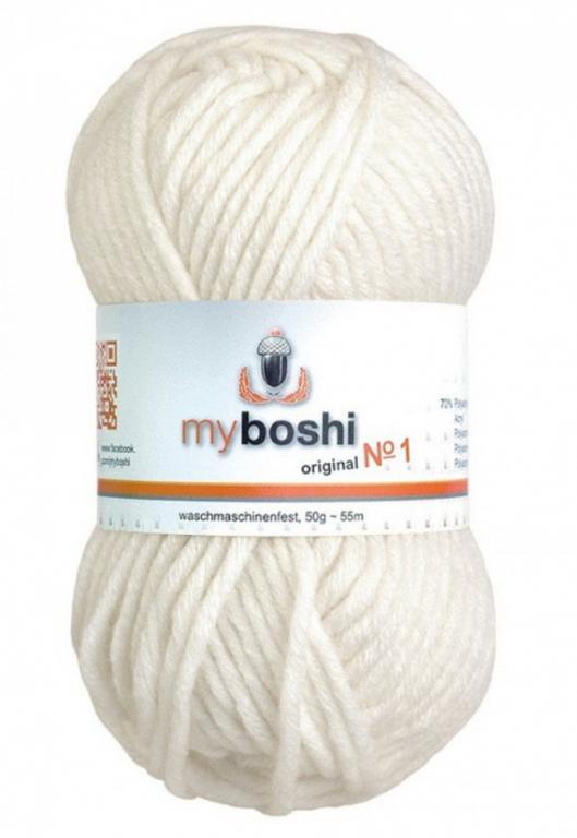 Laine myboshi original N° 1 495 col.495 white