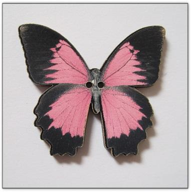 Papillon rose Z32009  Au P'tit Bonheur