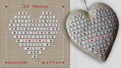 'Zé Mariage' M015 Lilipoints