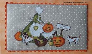 Zucche di halloween cv107