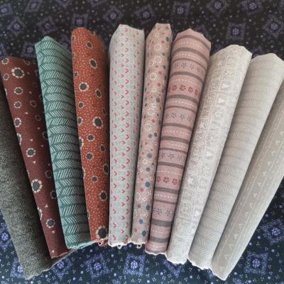 10 Coupons de Tissus Imprimés Lynette Anderson