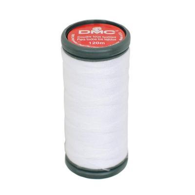 Fil à Coudre 100% Polyester Coloris BLANC  DMC