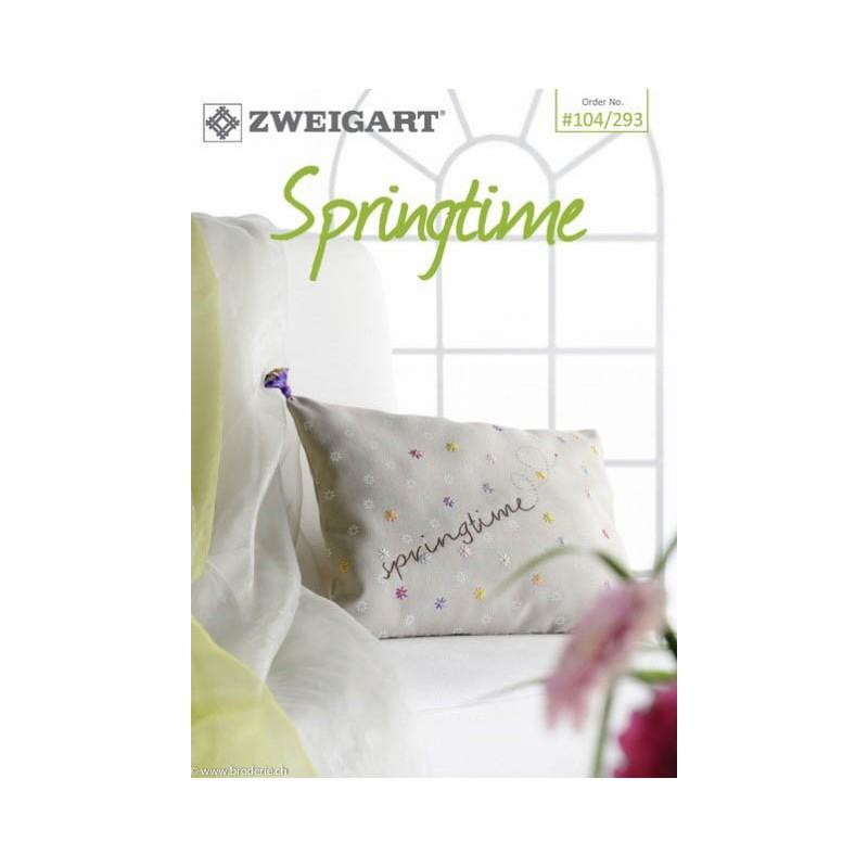 104 293 zweigart catalogue de modeles springtime