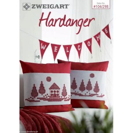 104 298 zweigart catalogue de modeles hardanger