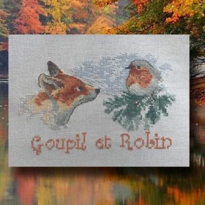 Goupil et Robin N° 1101 Au Fil de Martine