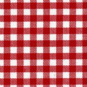 12 fils murano carreaux rouges pour broderie suisse