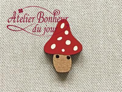 Champignon Haut rouge AU-02-RG - Atelier Bonheur du jour